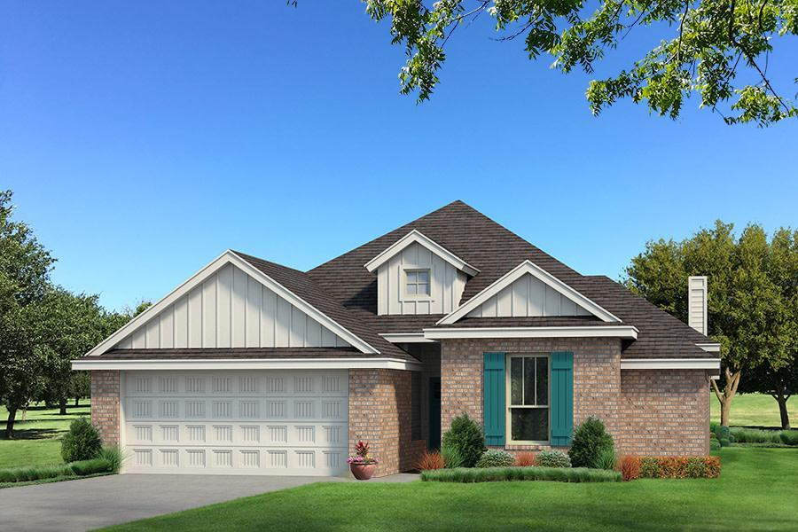 Exterior featured in the Brinklee By Homes By Taber in Oklahoma City, OK
