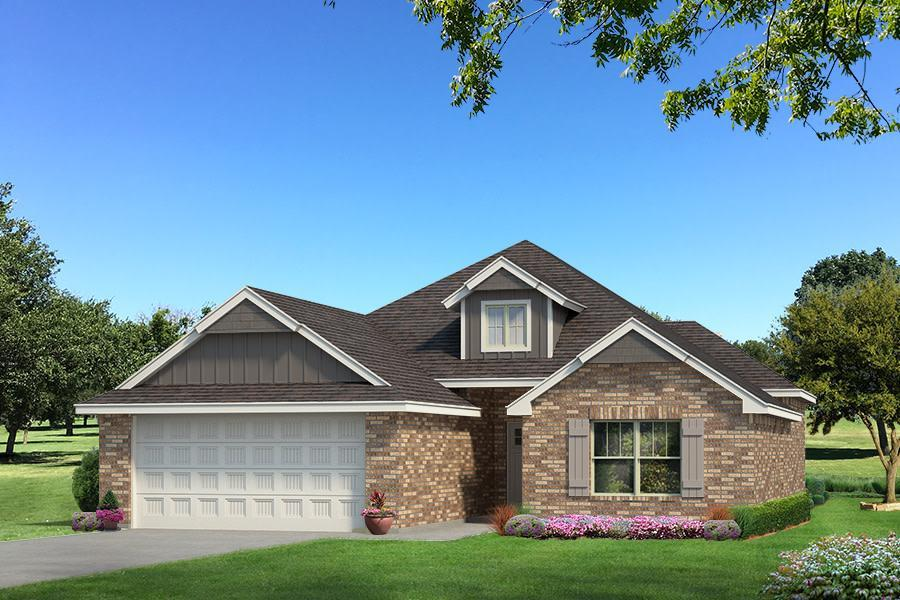 Exterior featured in the Hunter By Homes By Taber in Oklahoma City, OK
