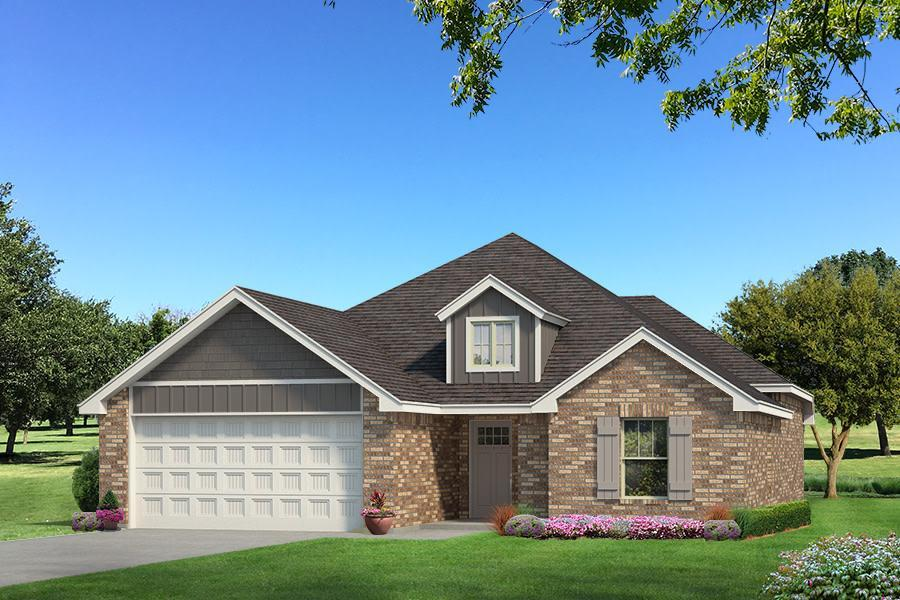 Exterior featured in the Drake By Homes By Taber in Oklahoma City, OK