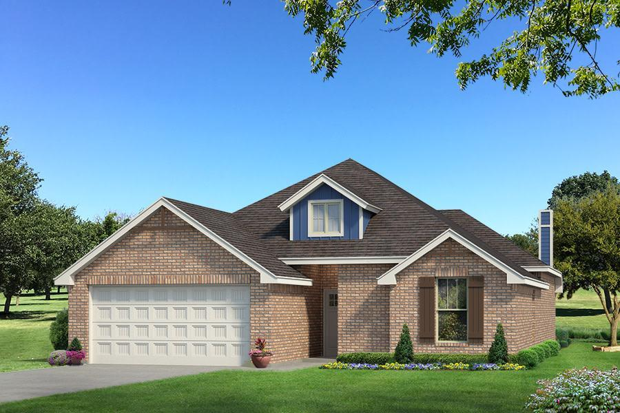 Exterior featured in the Teagen By Homes By Taber in Oklahoma City, OK