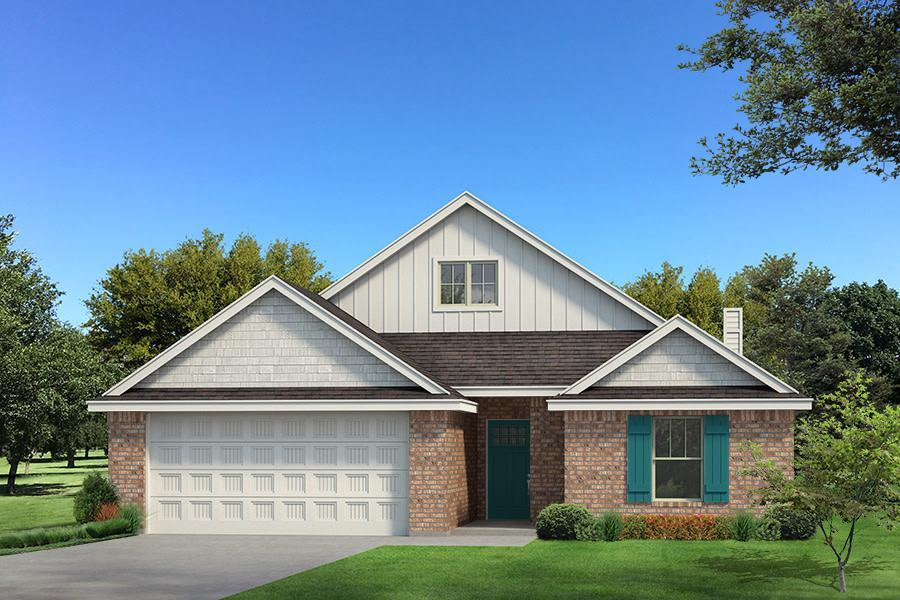 Exterior featured in the Kamber By Homes By Taber in Oklahoma City, OK