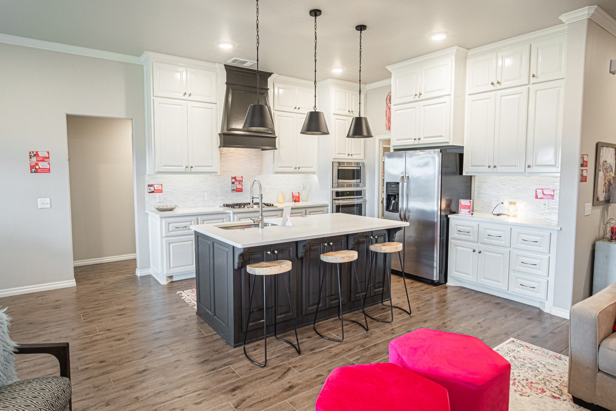 Kitchen featured in the Hummingbird Bonus Room 2 By Homes By Taber in Oklahoma City, OK