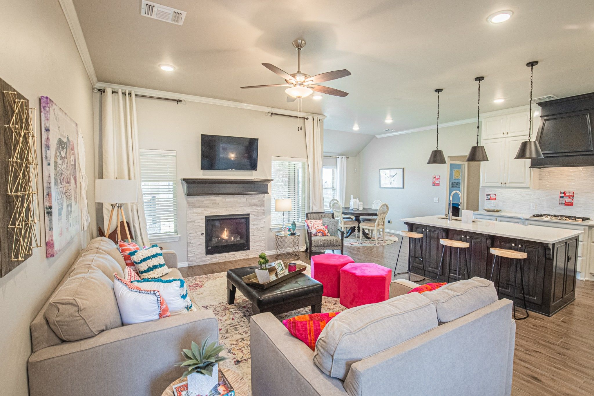 Living Area featured in the Hummingbird Bonus Room 2 By Homes By Taber in Oklahoma City, OK