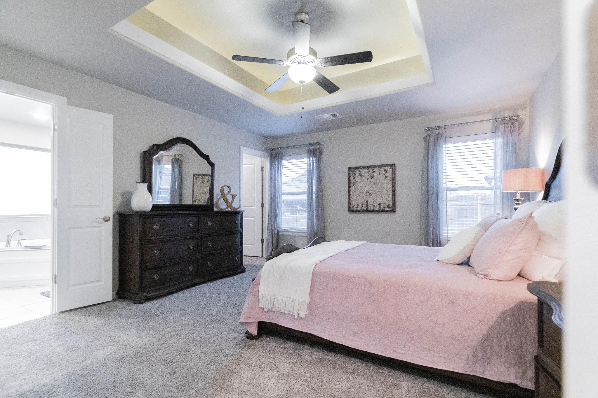Bedroom featured in the Shiloh Bonus Room 2 By Homes By Taber in Oklahoma City, OK