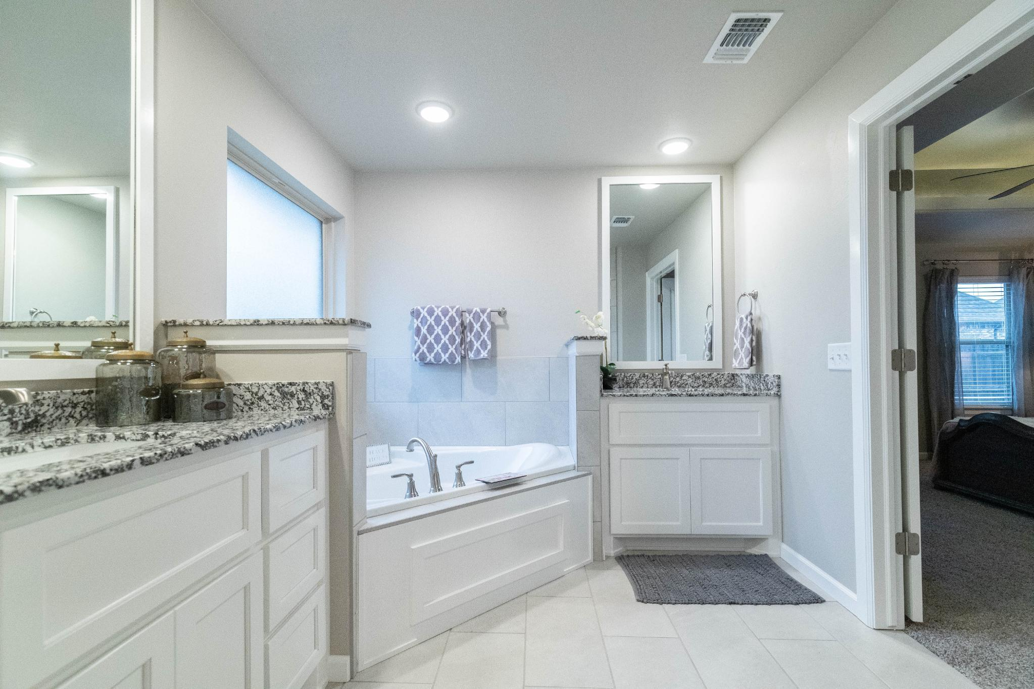 Bathroom featured in the Shiloh Bonus Room 2 By Homes By Taber in Oklahoma City, OK