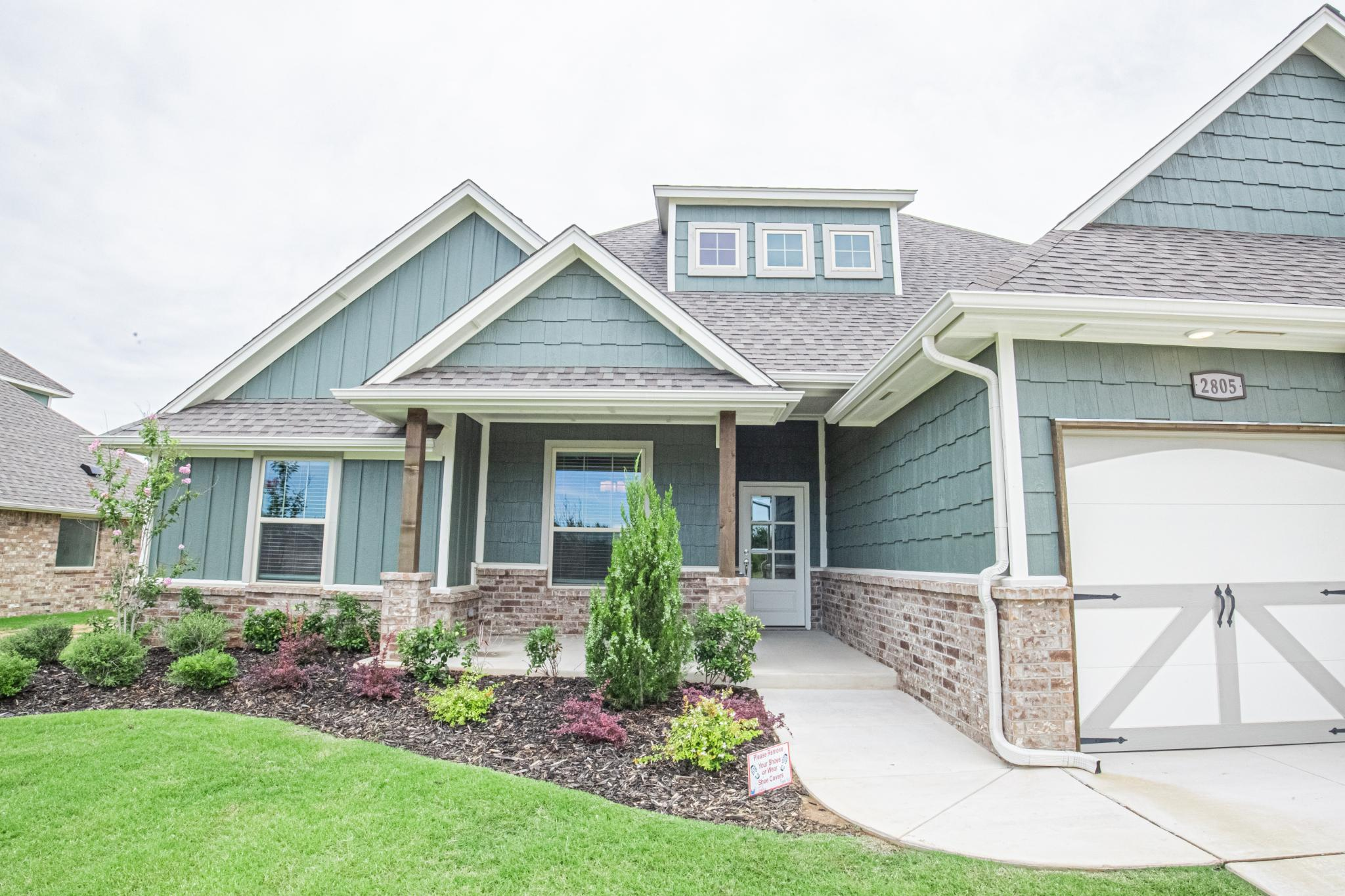 Exterior featured in the Poppey Bonus Room By Homes By Taber in Oklahoma City, OK