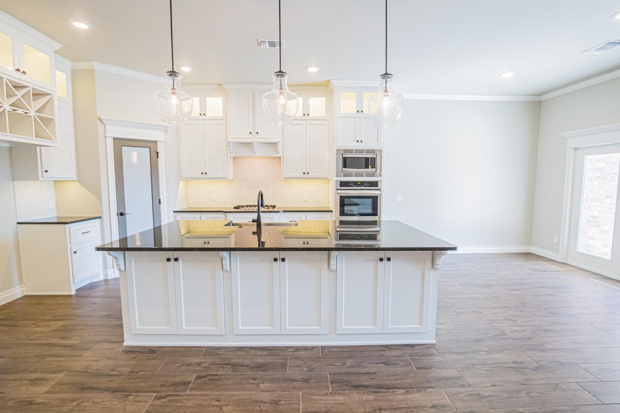 Kitchen featured in the Shiloh Plus Half Bath By Homes By Taber in Oklahoma City, OK