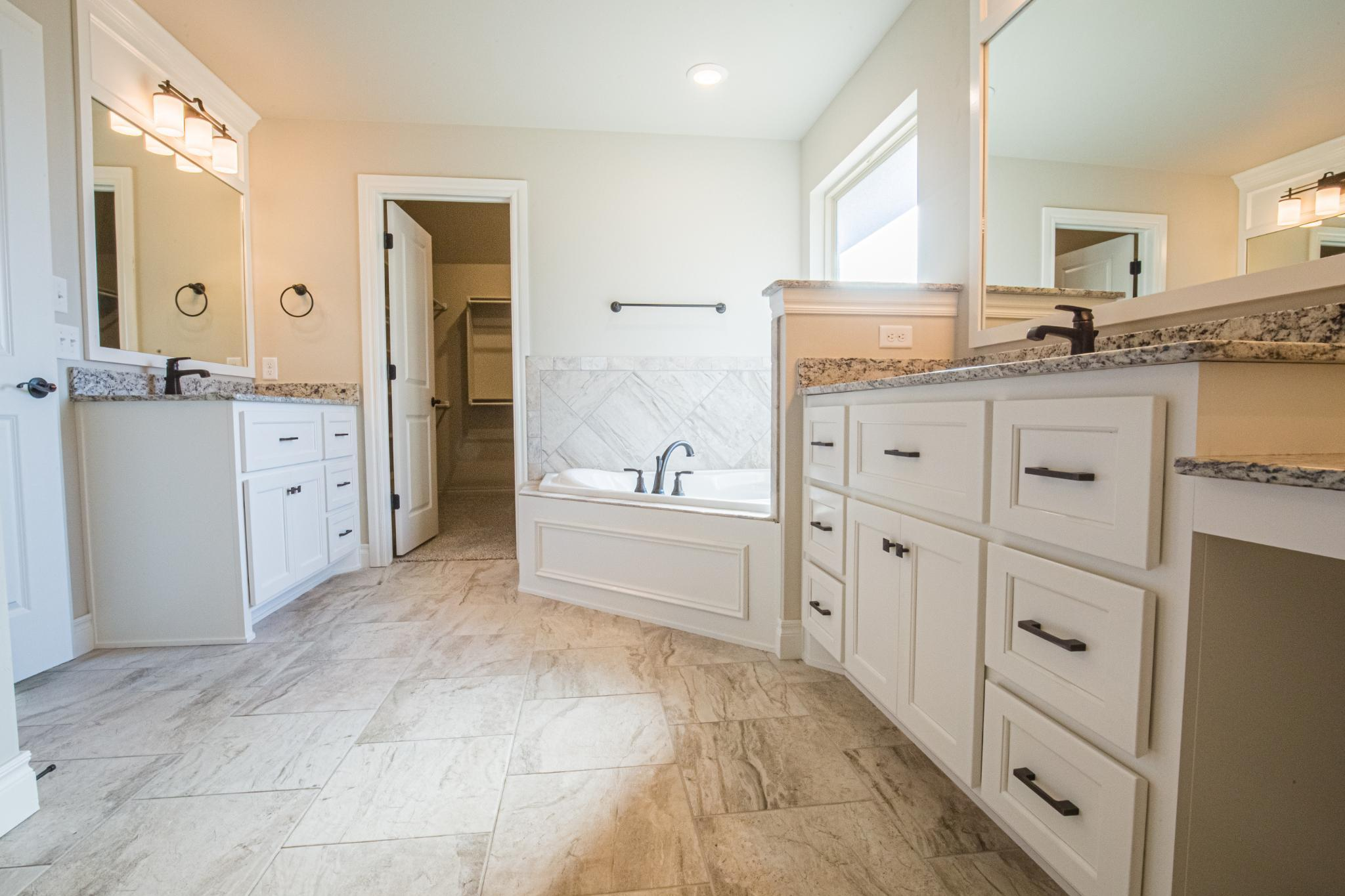 Bathroom featured in the Shiloh Plus Half Bath By Homes By Taber in Oklahoma City, OK