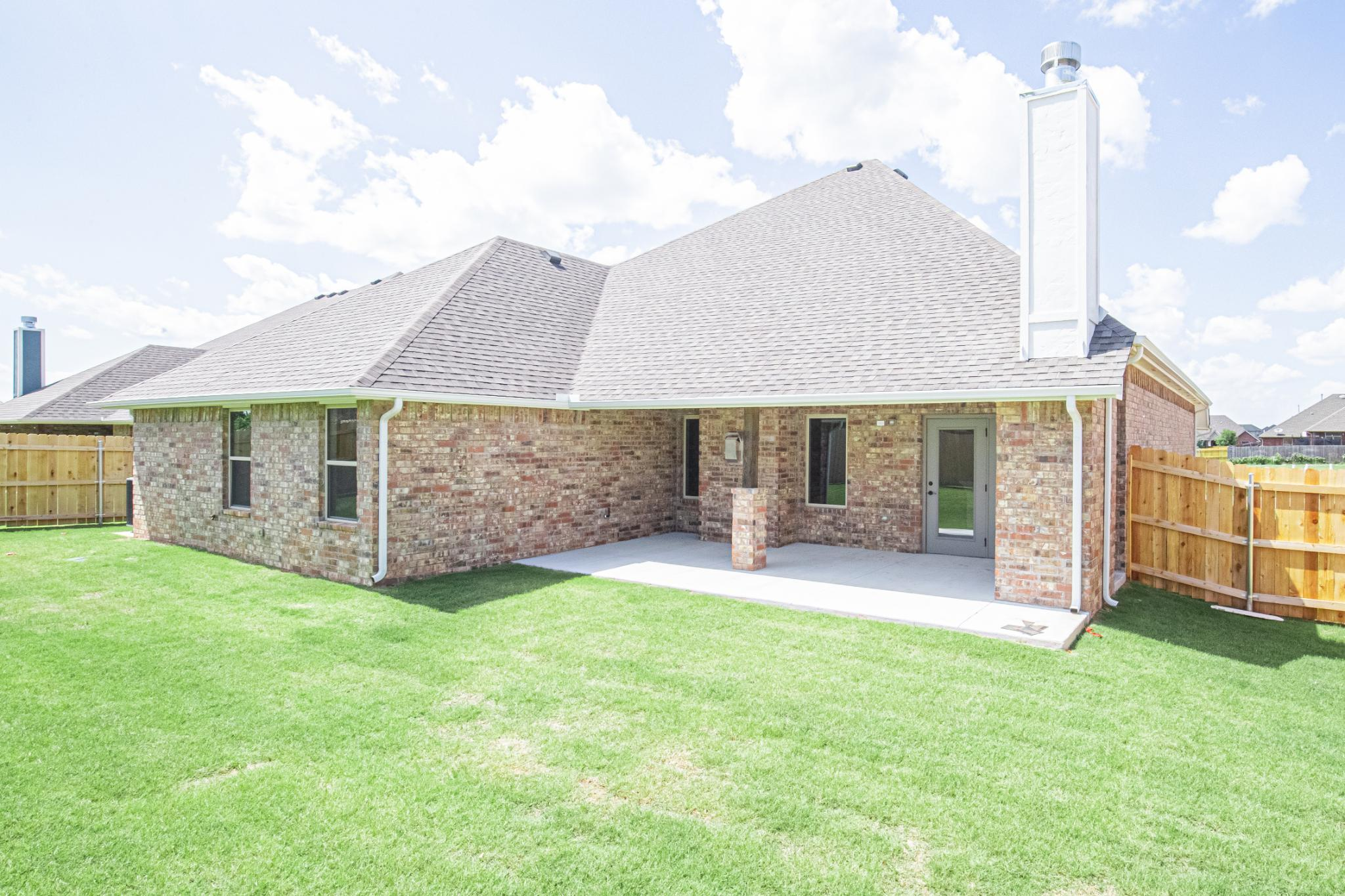 Exterior featured in the Shiloh Plus Half Bath By Homes By Taber in Oklahoma City, OK