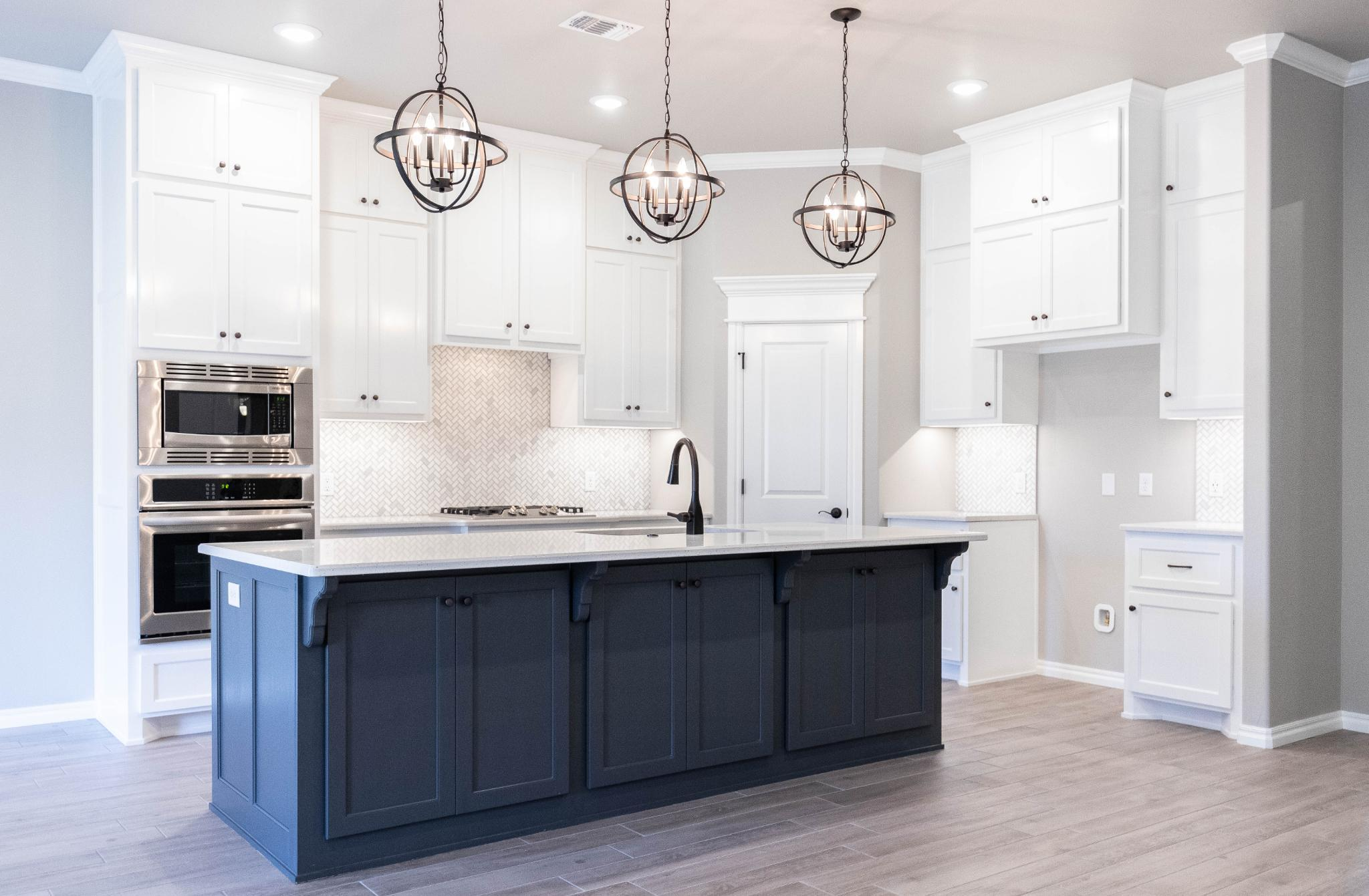 Kitchen featured in the Shiloh Half Bath By Homes By Taber in Oklahoma City, OK
