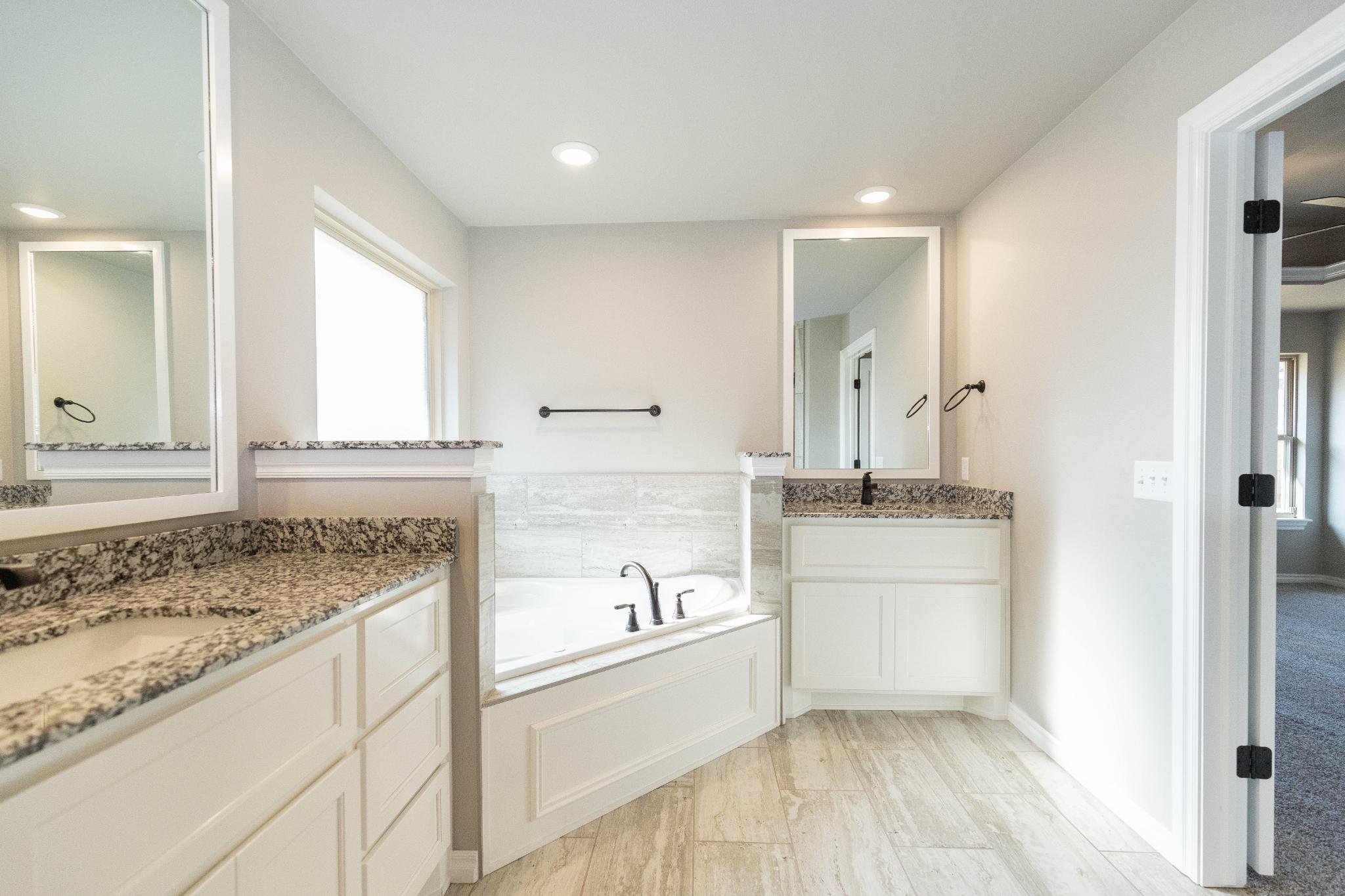 Bathroom featured in the Shiloh Half Bath By Homes By Taber in Oklahoma City, OK