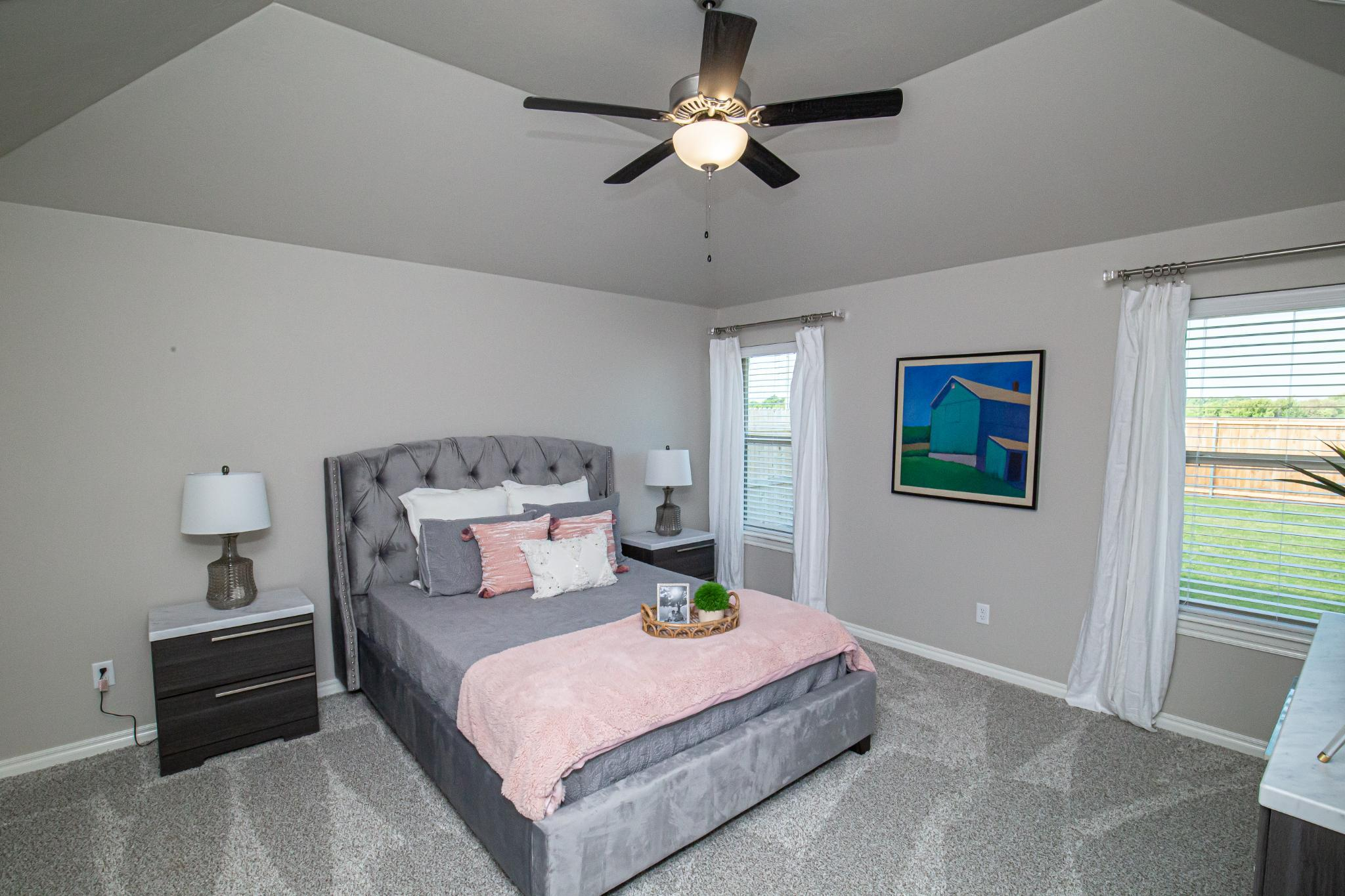 Bedroom featured in the Kamber By Homes By Taber in Oklahoma City, OK
