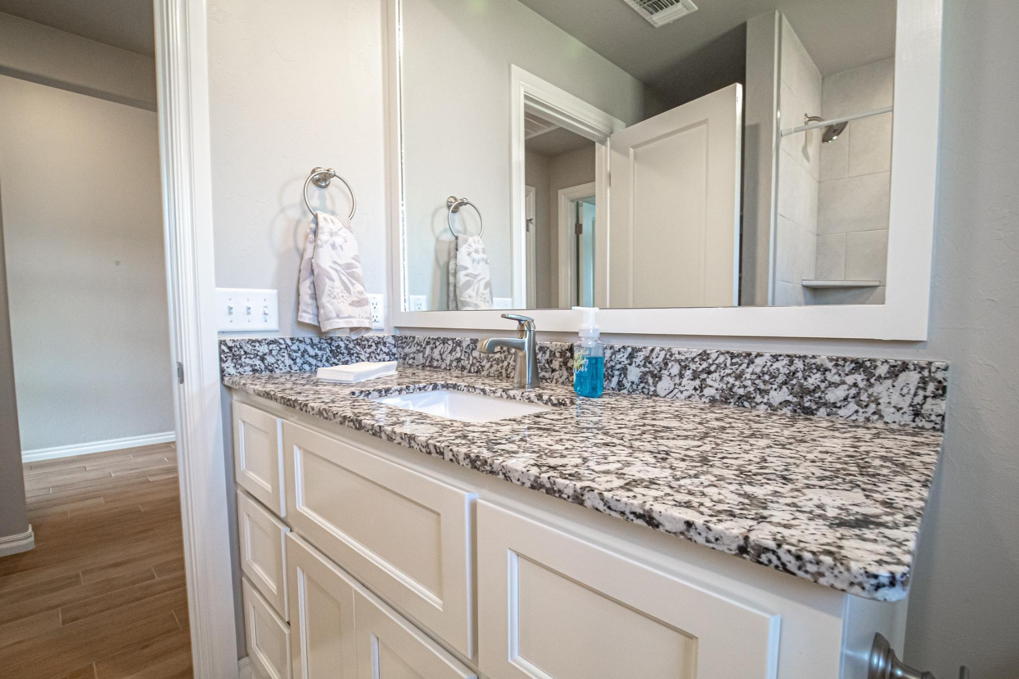 Bathroom featured in the Kamber By Homes By Taber in Oklahoma City, OK