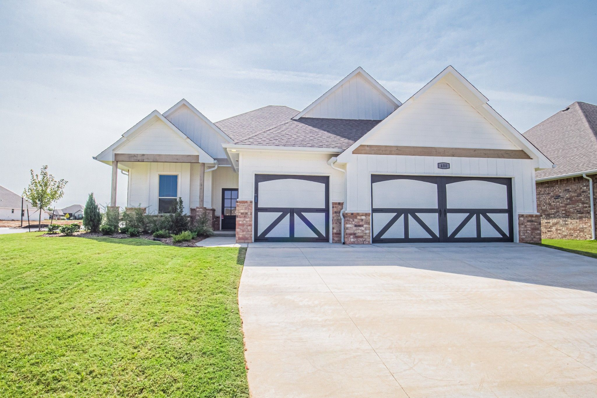 Exterior featured in the Mallory Bonus Room By Homes By Taber in Oklahoma City, OK