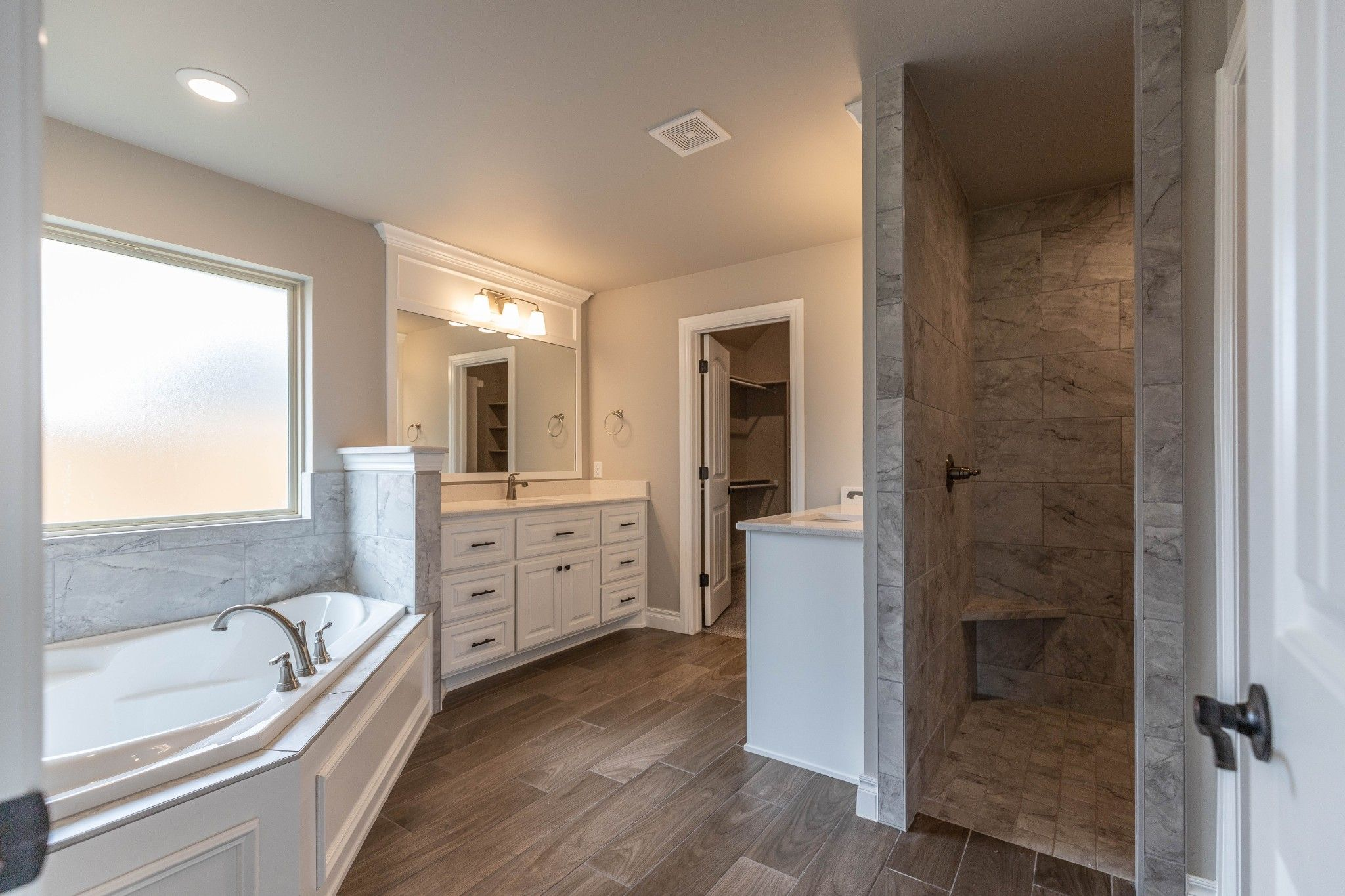 Bathroom featured in the Cornerstone By Homes By Taber in Oklahoma City, OK