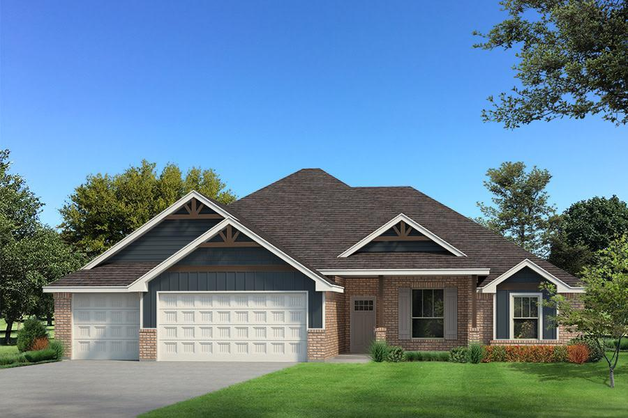 Exterior featured in the Cornerstone Half Bath By Homes By Taber in Oklahoma City, OK