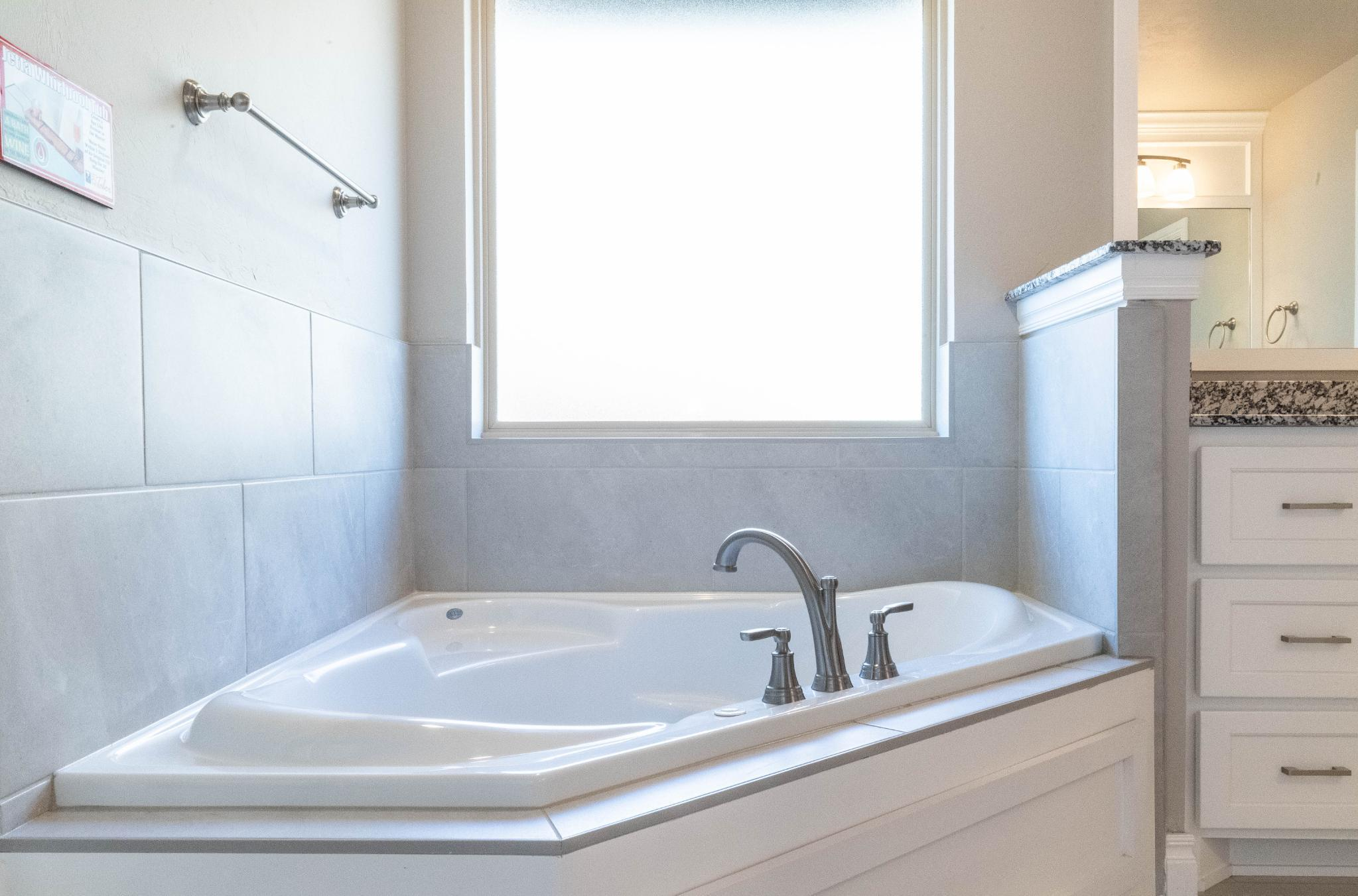 Bathroom featured in the Cornerstone Half Bath By Homes By Taber in Oklahoma City, OK
