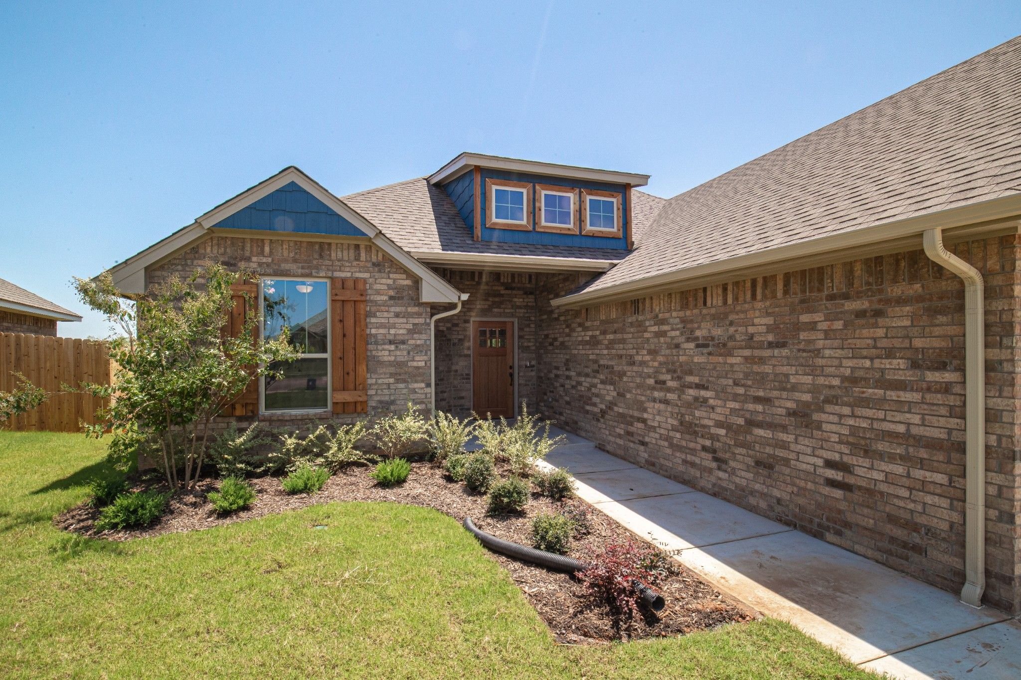 Exterior featured in the Hummingbird Half Bath By Homes By Taber in Oklahoma City, OK