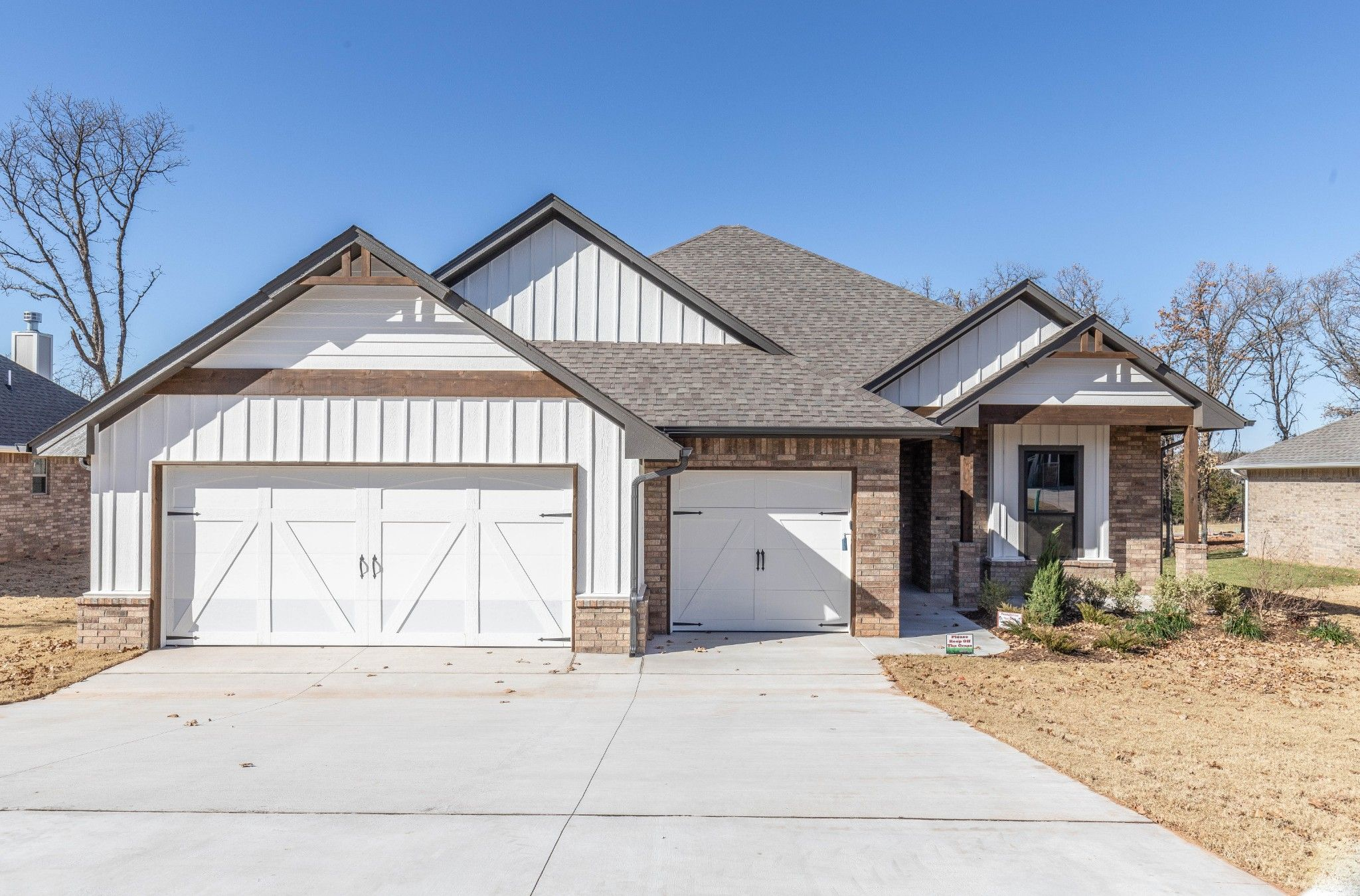 Exterior featured in the Mallory By Homes By Taber in Oklahoma City, OK