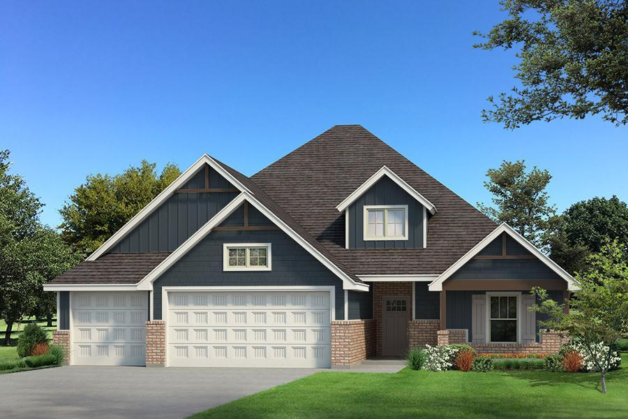 Exterior featured in the Blue Spruce Bonus Room 2 Plus By Homes By Taber in Oklahoma City, OK