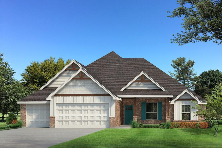 Exterior featured in the Cornerstone Bonus Room - 5 Bedroom By Homes By Taber in Oklahoma City, OK