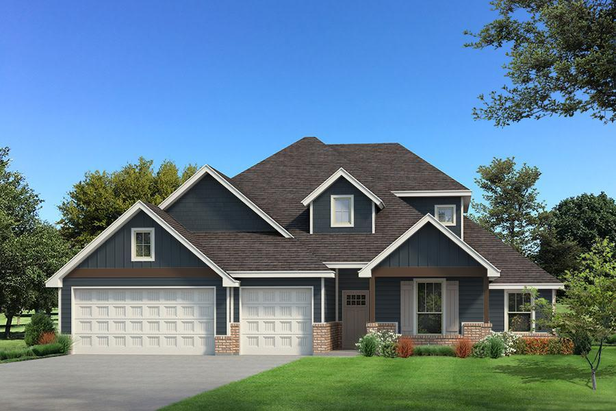 Exterior featured in the Hazel Bonus Room - 5 Bedroom By Homes By Taber in Oklahoma City, OK