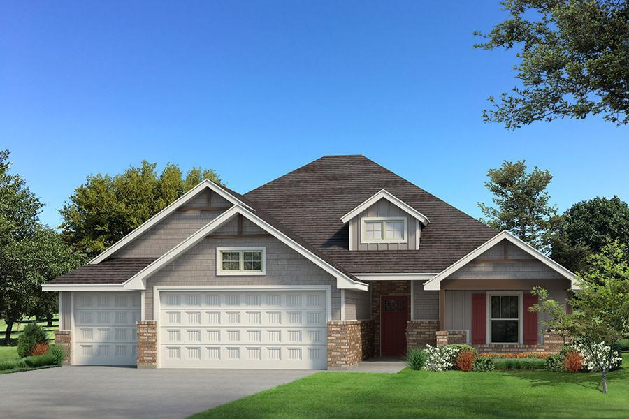 Exterior featured in the Blue Spruce Half Bath By Homes By Taber in Oklahoma City, OK