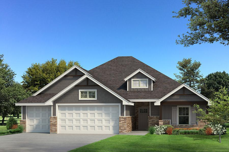 Exterior featured in the Blue Spruce Half Bath PLUS By Homes By Taber in Oklahoma City, OK