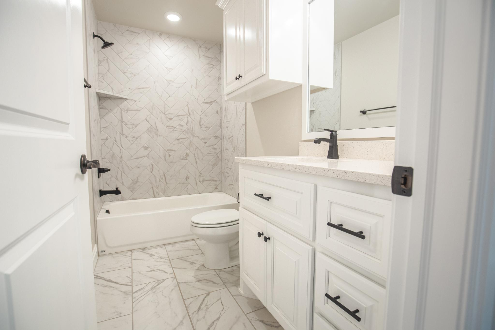 Bathroom featured in the Zade By Homes By Taber in Oklahoma City, OK