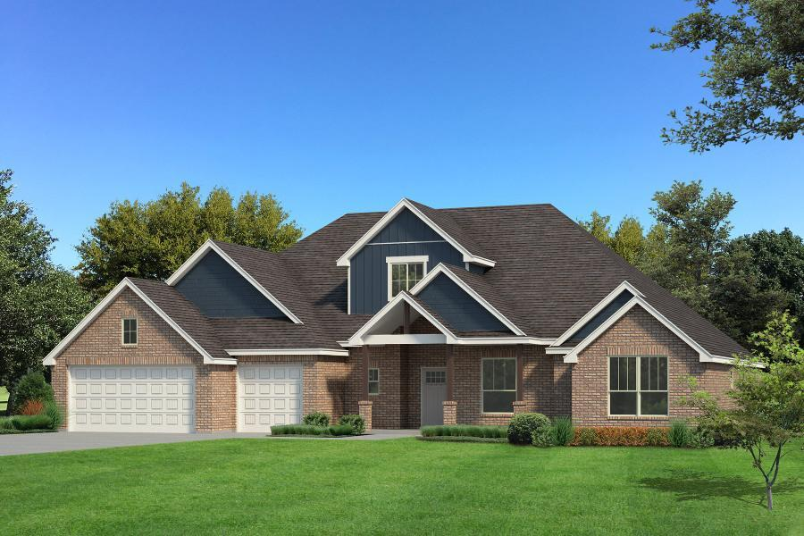 Exterior featured in the Lynne Bonus Room By Homes By Taber in Oklahoma City, OK