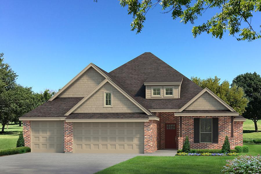 Exterior featured in the Sage Bonus Room 1 By Homes By Taber in Oklahoma City, OK