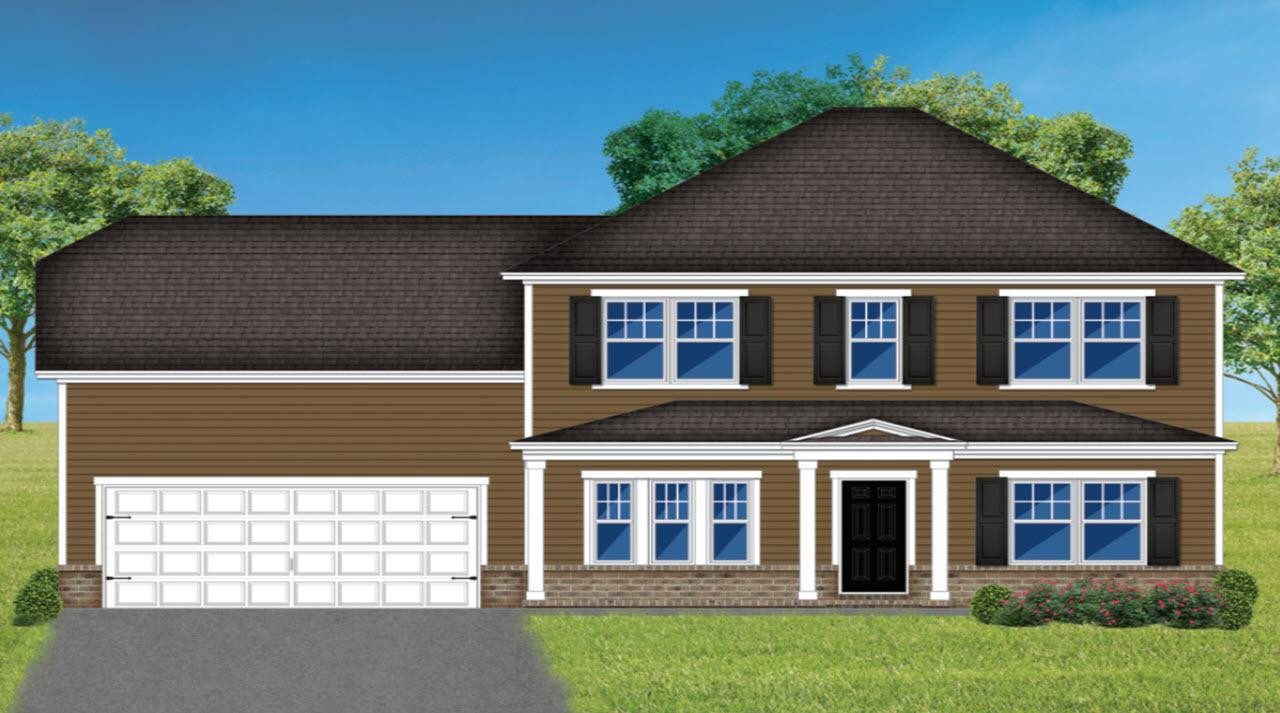 Exterior featured in The Rayburn By Homes of Integrity in Savannah, GA
