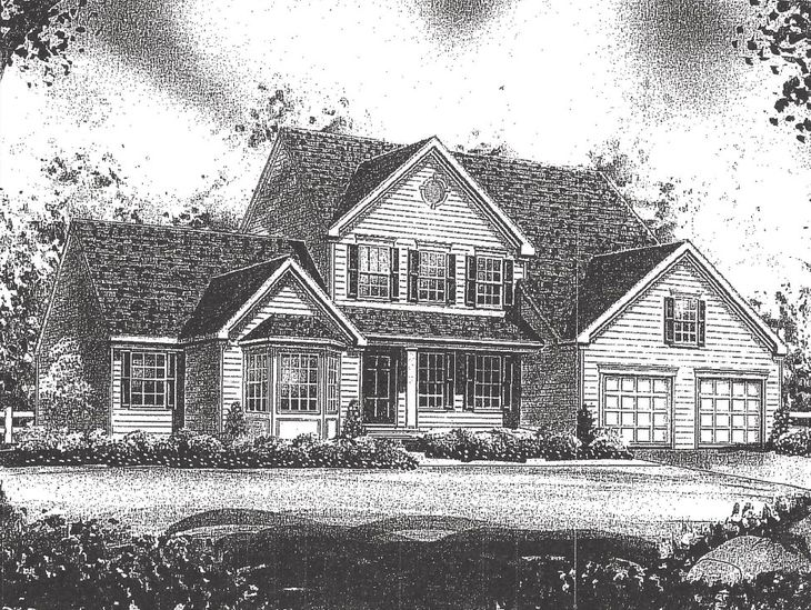 Elevation 1:Shown with Optional Bay Window