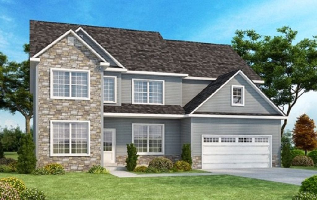 Exterior featured in the Woodcrest II By Barbera Homes, Inc. in Albany-Saratoga, NY