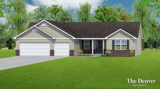 The Denver - 3 Car Garage - Riverdale: O Fallon, Missouri - T.R. Hughes Homes