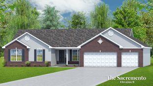 The Sacramento - 4 Car Garage - Riverdale: O Fallon, Missouri - T.R. Hughes Homes