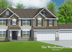 The Westhampton II - 4 Car Garage - Riverdale: O Fallon, Missouri - T.R. Hughes Homes