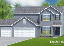 The Aspen - 3 Car Garage - Charlestowne Place: Saint Charles, Missouri - T.R. Hughes Homes