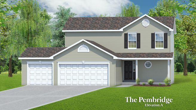 The Pembridge - 3 Car Garage