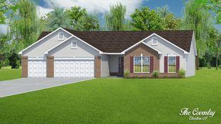 The Coventry - 3 Car Garage - Charlestowne Place: Saint Charles, Missouri - T.R. Hughes Homes