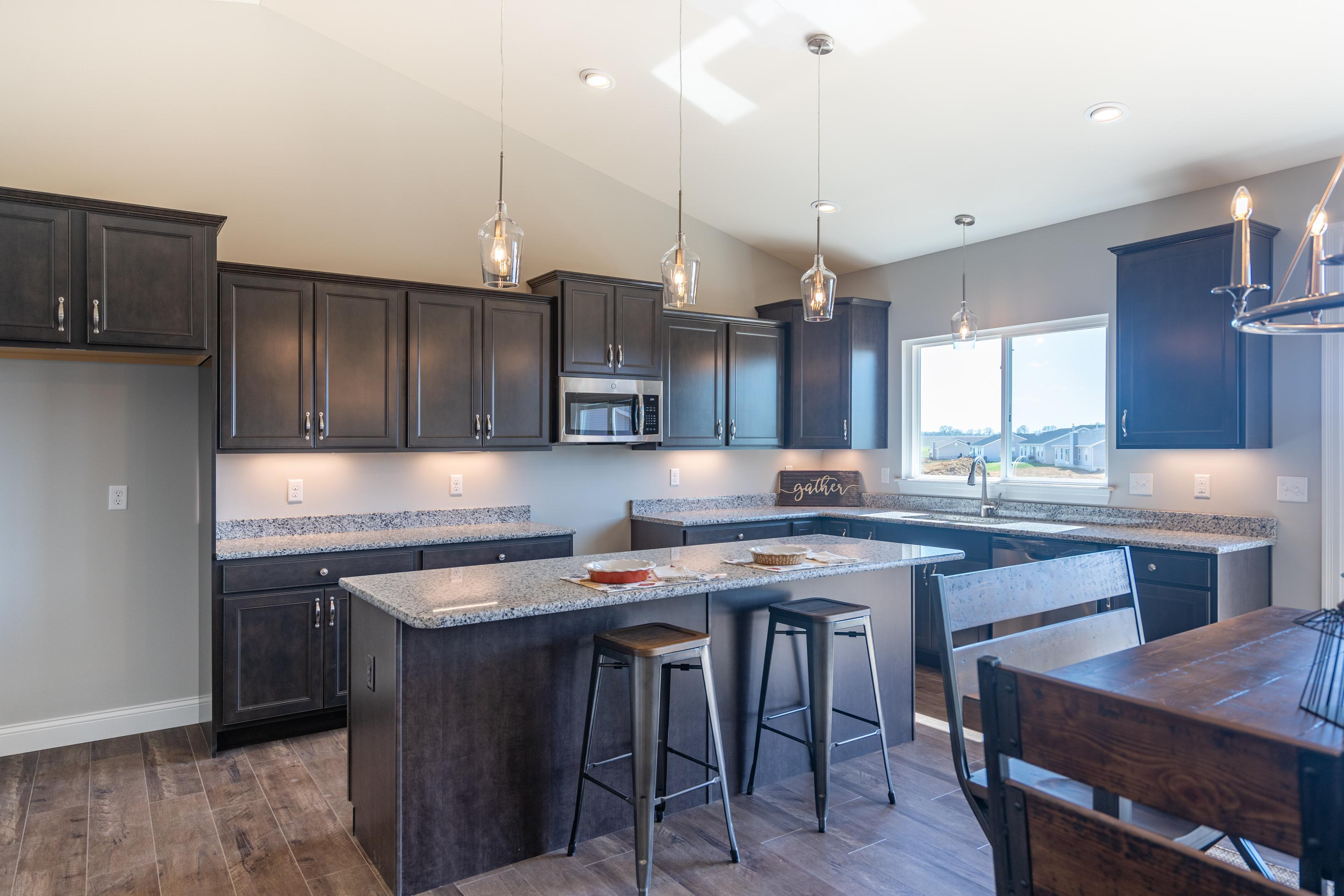 Kitchen featured in The Willow - 4 Car Garage By T.R. Hughes Homes in St. Louis, MO