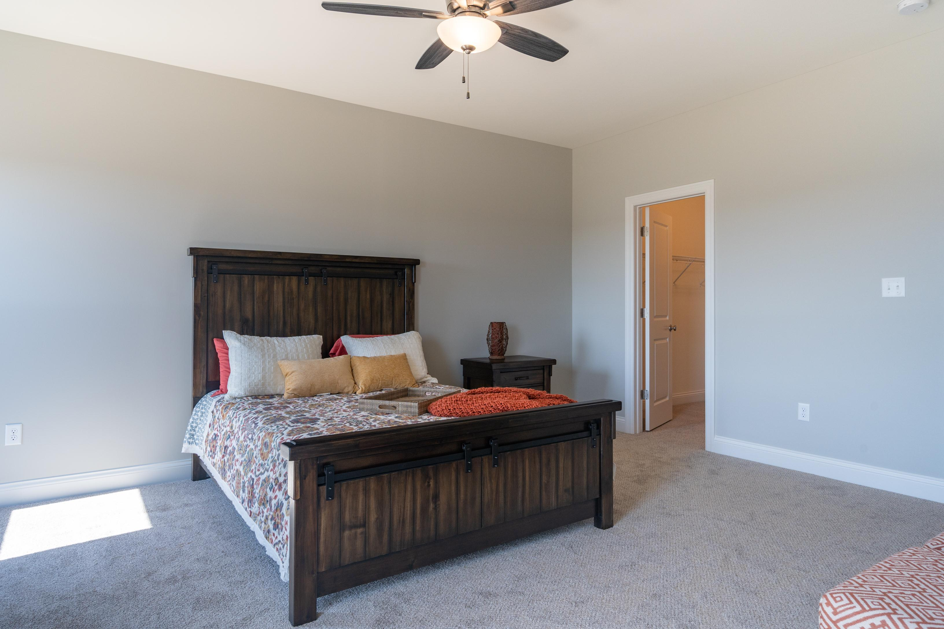 Bedroom featured in The Willow - 4 Car Garage By T.R. Hughes Homes in St. Louis, MO