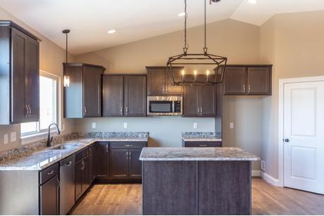 Kitchen-in-The Rebecca - 4 Car Garage-at-Riverdale-in-Saint Paul