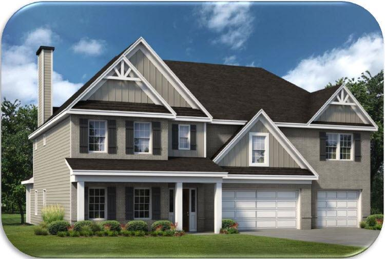 Exterior featured in the Maple By Hughston Homes in Auburn-Opelika, AL