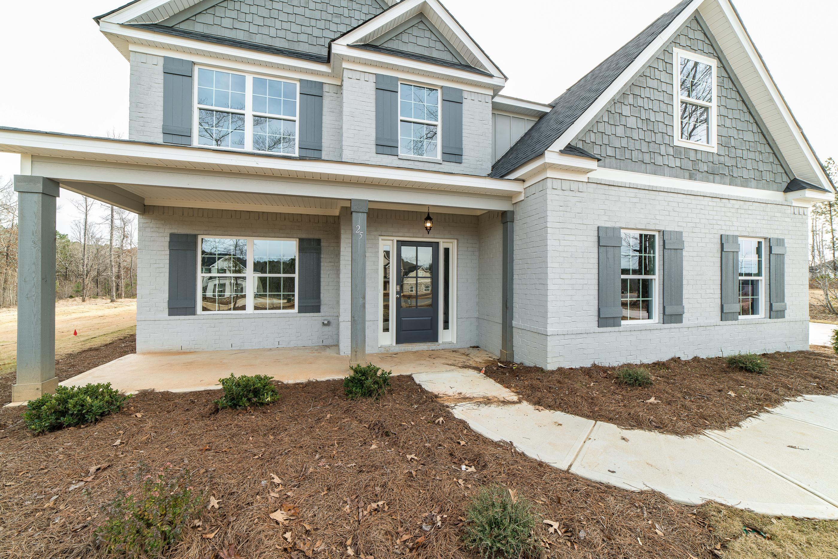 Exterior featured in the Camden By Hughston Homes in Macon, GA