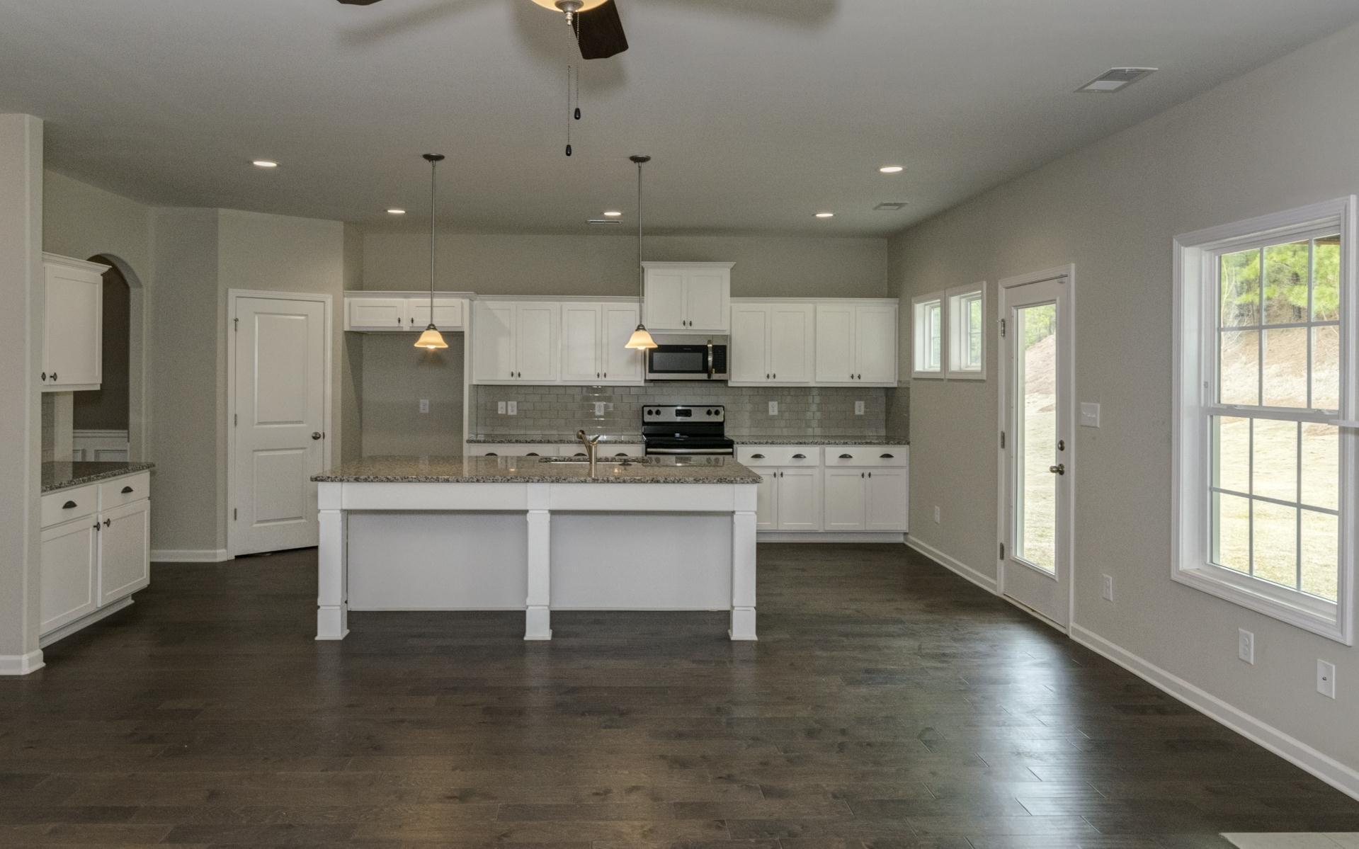 Kitchen featured in the Cannaberra By Hughston Homes in Auburn-Opelika, AL