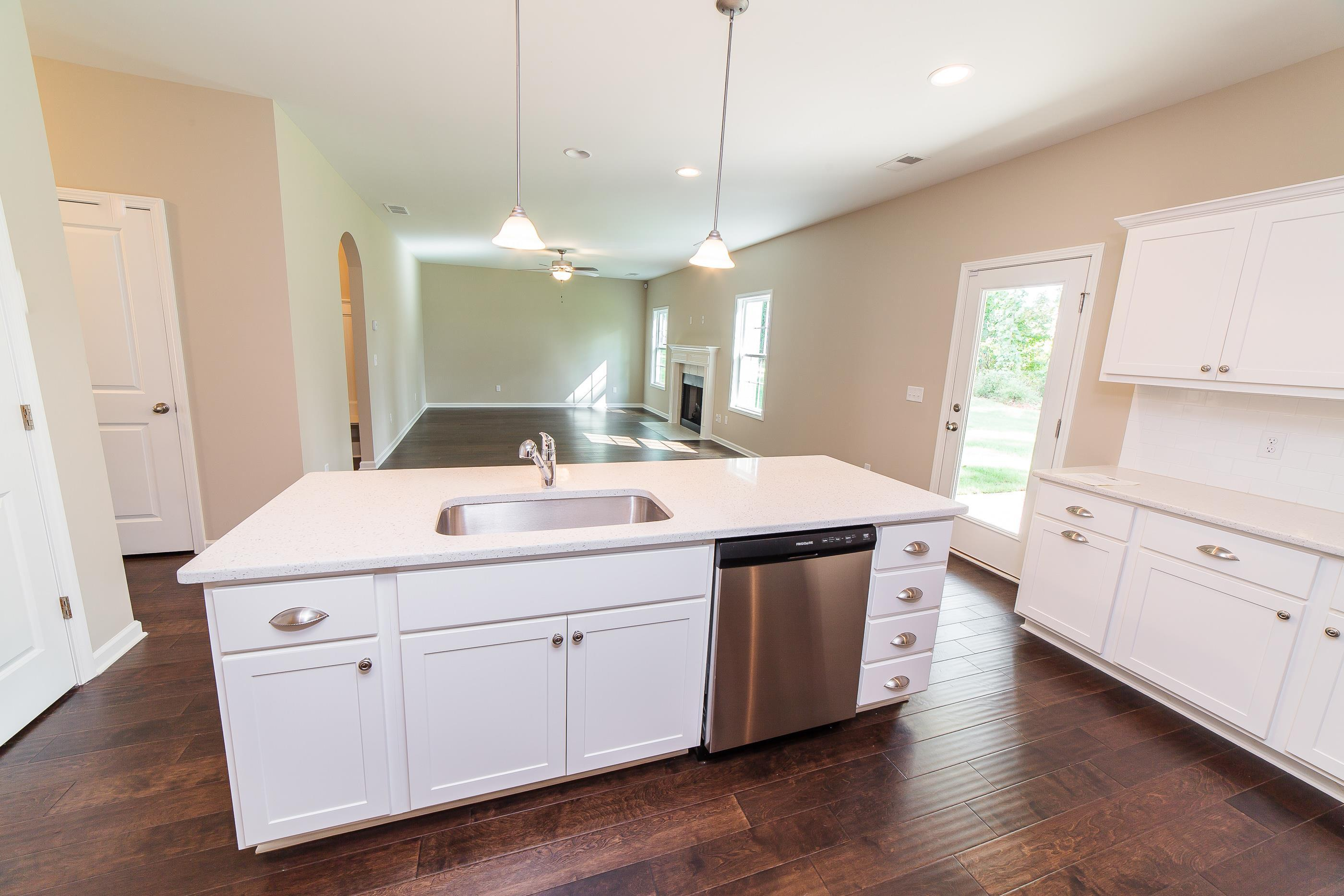 Kitchen featured in the Delilah By Hughston Homes in Macon, GA