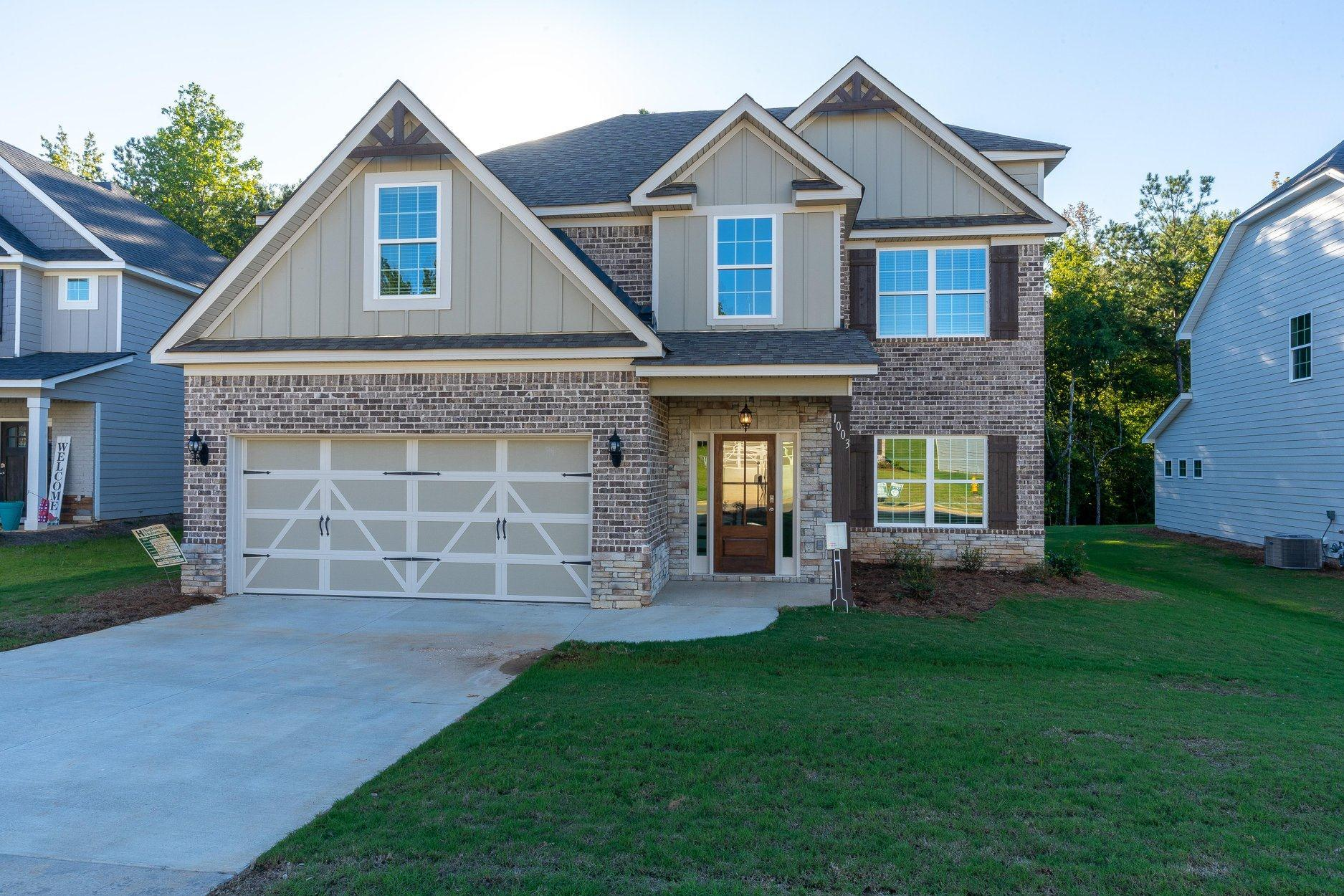 Exterior featured in the Dogwood By Hughston Homes in Auburn-Opelika, AL