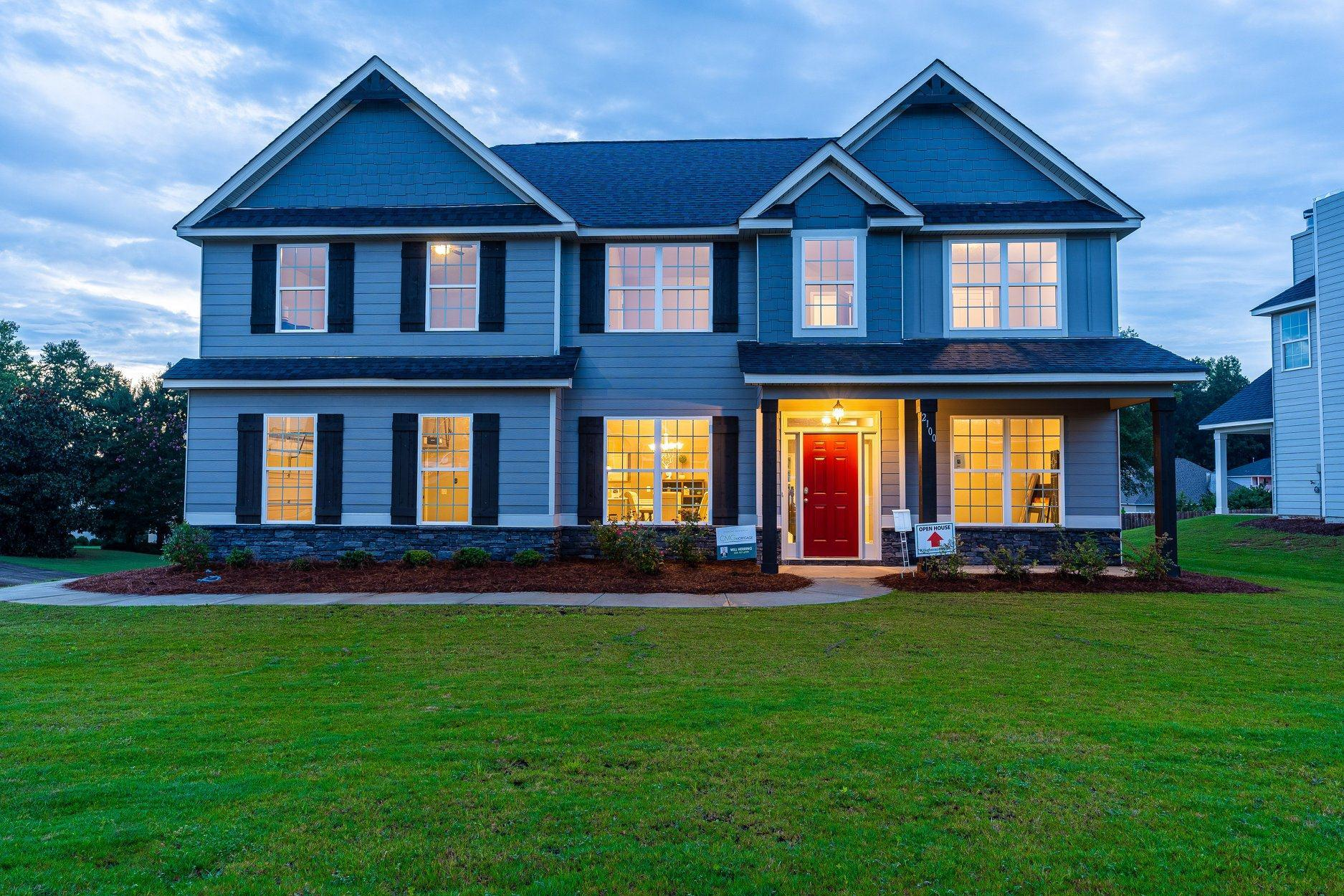 Exterior featured in the Harrison By Hughston Homes in Augusta, GA