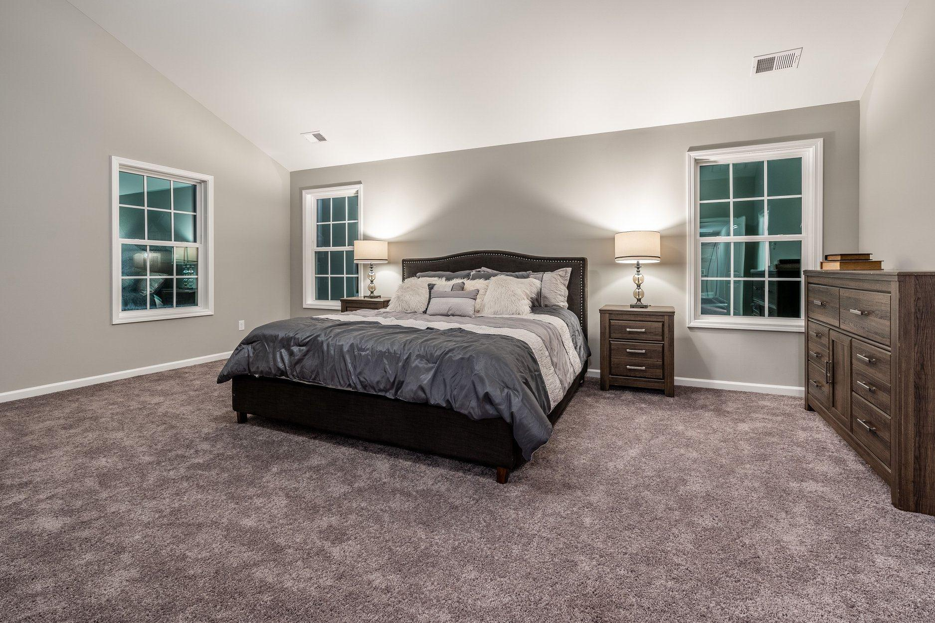 Bedroom featured in the Harrison By Hughston Homes in Atlanta, GA